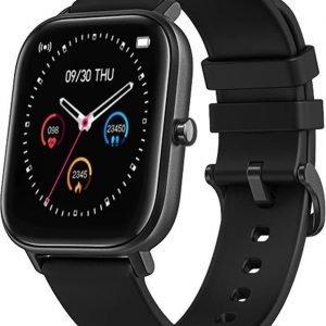 Dylero Fit Easy - Smart Watch / Fitness Tracker met hartslag- en bloeddrukmeter, slaapmonitor & meldingen - Zwart - Android & iOS
