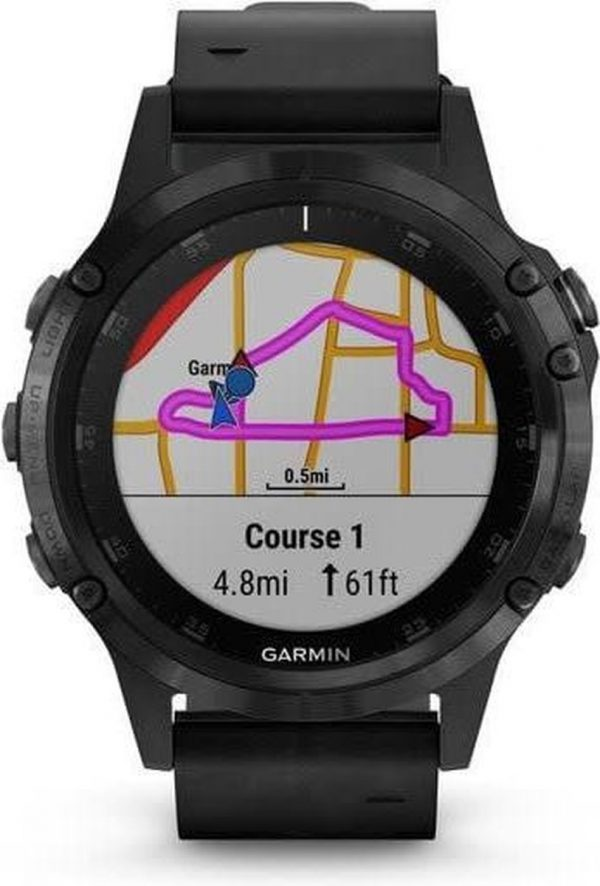 Garmin fenix 5 Plus - Smartwatch - Zwart