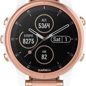 Garmin fenix 5S Plus - Multisporthorloge - GPS - Smartwatch dames - 42 mm -Roségoud