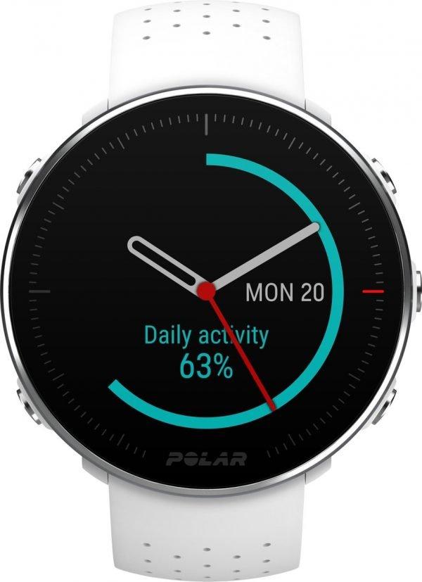 Polar Vantage M - Multisport horloge - 46 mm - M/L bandje - Wit