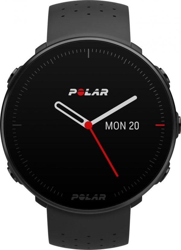 Polar Vantage M - Multisport horloge - 46 mm - M/L bandje - Zwart