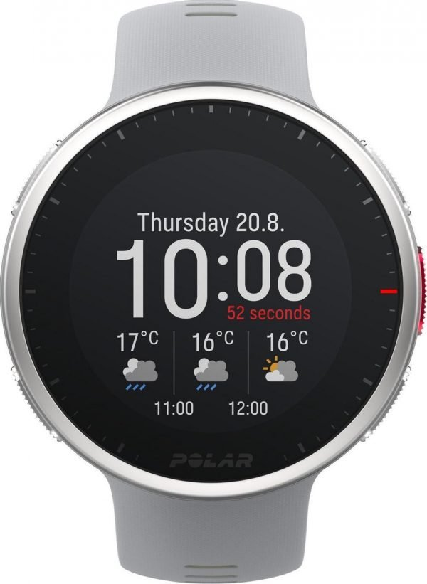 Polar Vantage V2 - Multisport horloge - Grijs/Limoen - 47 mm - M/L bandje